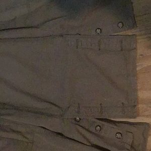 Triple Five Soul Jackets & Coats - Like new Army green slim trench coat size small